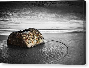 Coastal Scene Canvas Print by Svetlana Sewell