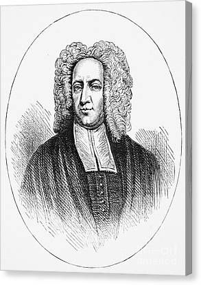Cotton Mather (1663-1728) Canvas Print by Granger