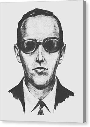 D.b. Cooper Canvas Print by War Is Hell Store