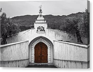 Del Dotto Estate Winery - Napa Valley California Canvas Print by Mountain Dreams