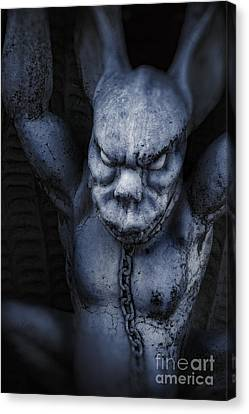 Demon Canvas Print by HD Connelly