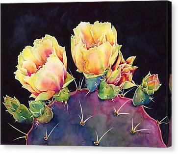 Desert Bloom 2 Canvas Print by Hailey E Herrera