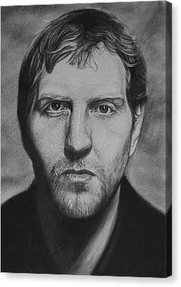 Dirk Canvas Print by Steve Hunter