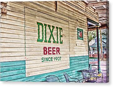 Dixie Beer Canvas Print by Scott Pellegrin