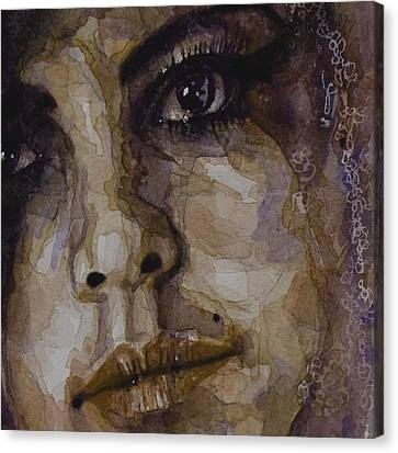 Do You Think Of Her When Your With Me  Canvas Print by Paul Lovering