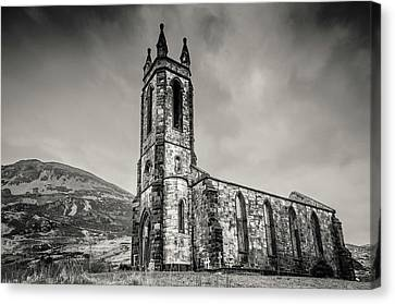 Dunlewey Church Of Ireland  Canvas Print by Martina Fagan