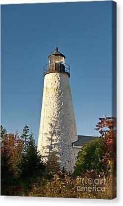 Dyce Head Lighthouse Canvas Print by John Greim
