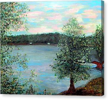Early Summer Morning Canvas Print by Bert Grant