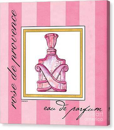 Eau De Parfum Canvas Print by Debbie DeWitt