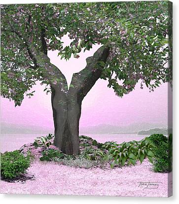 Eden Canvas Print by Torie Tiffany
