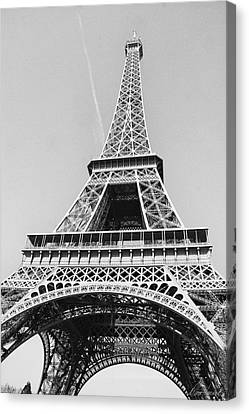 Eiffel Tower Canvas Print by Diana Haronis