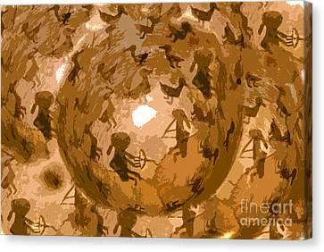 Emergence Canvas Print by David Lee Thompson
