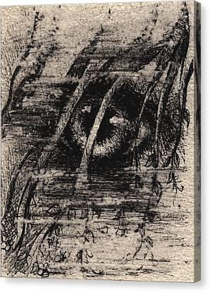Eye Of The Storm Canvas Print by Rachel Christine Nowicki