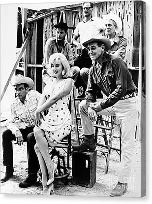 Film: The Misfits, 1961 Canvas Print by Granger