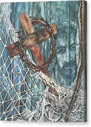 Fishers Of Men Canvas Print by Laneea Tolley