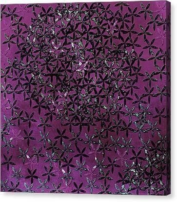 Flower Shower Canvas Print by Bonnie Bruno