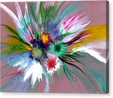 Flowers Canvas Print by Anil Nene