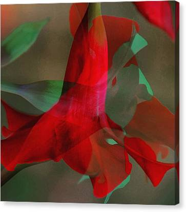 Flowers Canvas Print by Contemporary Art