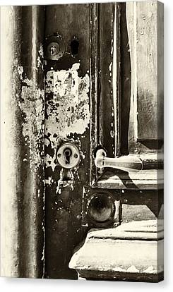 French Door Detail Canvas Print by Georgia Fowler