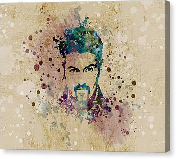 George Michael Canvas Print by JW Digital Art