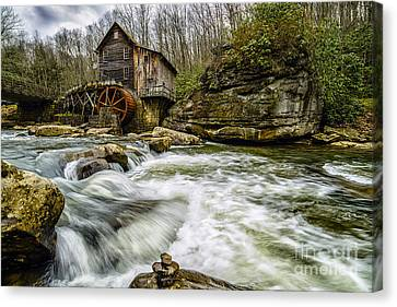Glade Creek Grist Mill Canvas Print by Thomas R Fletcher