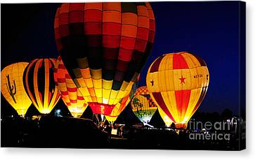 Glowing Canvas Print by Clayton Bruster