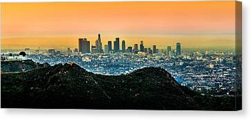 Golden California Sunrise Canvas Print by Az Jackson
