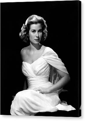 Grace Kelly, 1954 Canvas Print by Everett