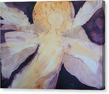 Guardian For The Girls Canvas Print by Mary Martin