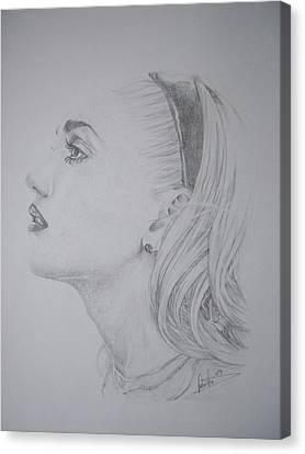 Gwen Stefani Canvas Print by Sean Leonard