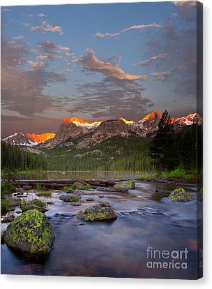 Hell Roaring Lake Canvas Print by Keith Kapple