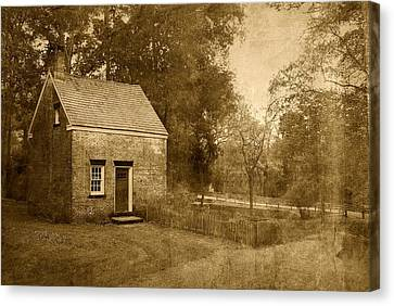 Historic Home - Allaire State Park Canvas Print by Angie Tirado