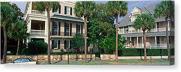 Historic Home On Battery Street Canvas Print by Panoramic Images