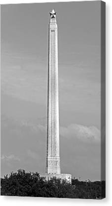 Historic San Jacinto Monument Canvas Print by Mountain Dreams