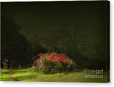 Hut Canvas Print by Charuhas Images