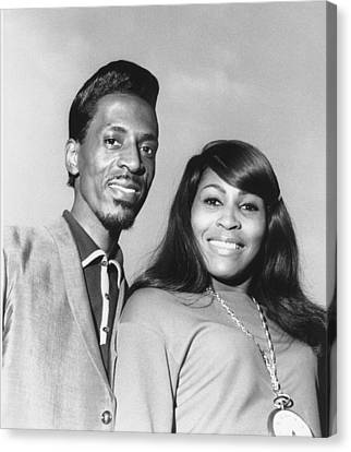 Ike And Tina Turner 1966 Canvas Print by Chris Walter