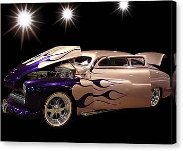 In The Spotlight Canvas Print by CJ Anderson