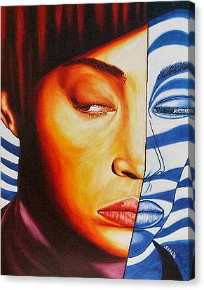 Intuition Canvas Print by Shahid Muqaddim
