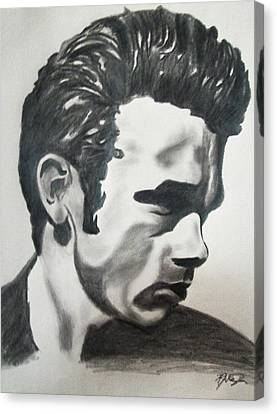 James Dean Canvas Print by Mikayla Ziegler