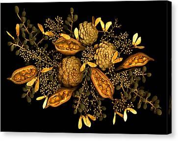 January Jewels Canvas Print by Marsha Tudor