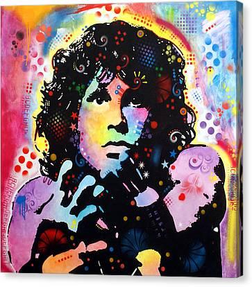 Jim Morrison Canvas Print by Dean Russo