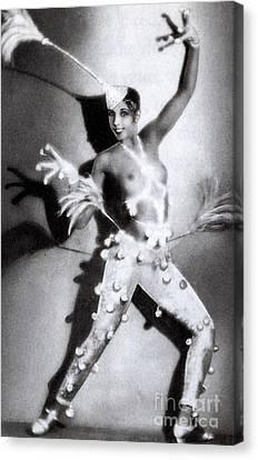 Josephine Baker Canvas Print by Stanislaus Walery