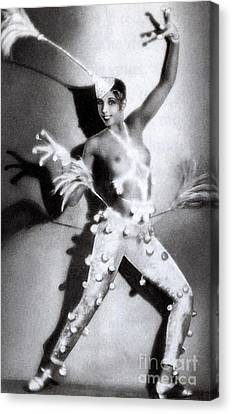 Josephine Baker Canvas Print by Stanislaus Walery