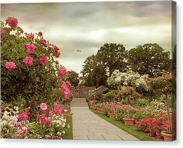 June In Bloom Canvas Print by Jessica Jenney