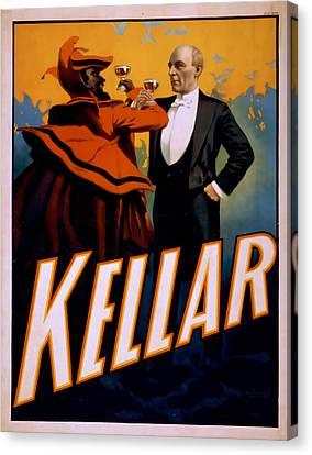 Kellar Canvas Print by David Wagner