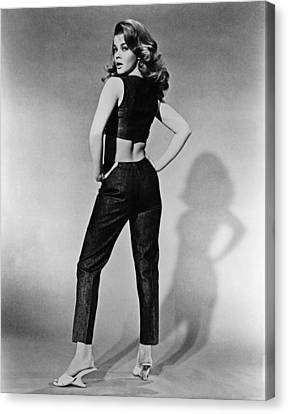 Kitten With A Whip, Ann-margret, 1964 Canvas Print by Everett