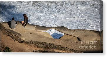 La Jolla, California Canvas Print by Richard Smukler