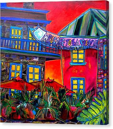 La Villita Entrance Canvas Print by Patti Schermerhorn