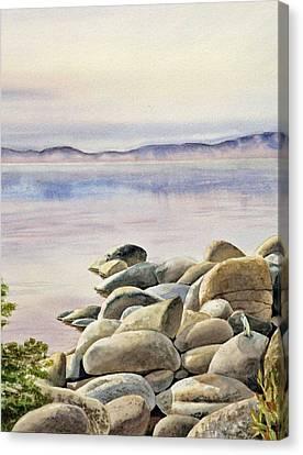 Lake Tahoe Canvas Print by Irina Sztukowski