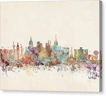Las Vegas Skyline Canvas Print by Bri B